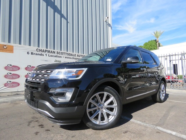 used 2017 ford explorer limited for sale stock cp75302 chapman dodge chrysler jeep ram. Black Bedroom Furniture Sets. Home Design Ideas