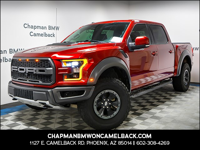 Used 2018 Ford F-150 Raptor Crew Cab
