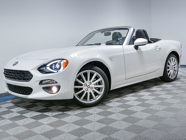 Used 2017 FIAT 124 Spider Lusso