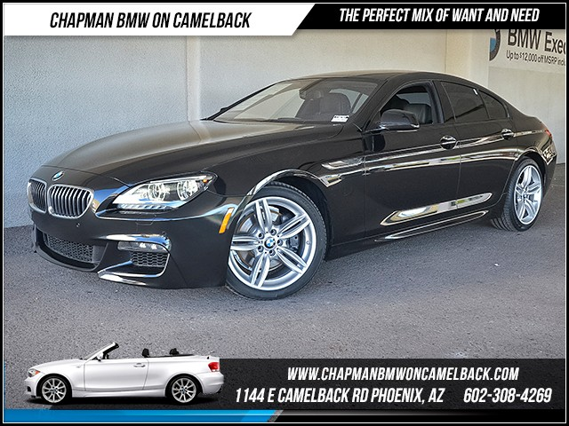 2014 BMW 6 Series 640i Gran Coupe Stock X180296A