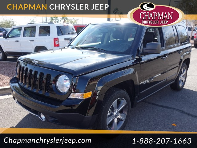 2017 jeep patriot high altitude for sale stock 17j082 chapman chrysler jeep. Black Bedroom Furniture Sets. Home Design Ideas
