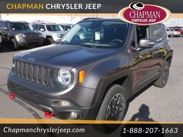 2017 jeep renegade trailhawk for sale stock 17j308 chapman chrysler jeep. Black Bedroom Furniture Sets. Home Design Ideas