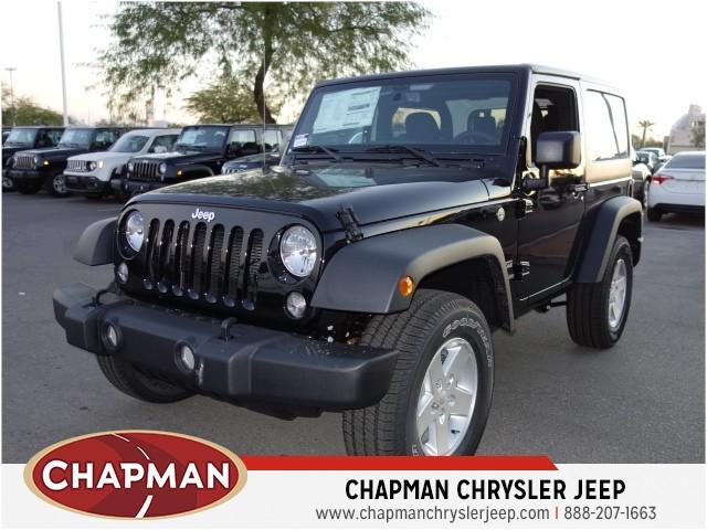 2017 jeep wrangler sport s for sale stock 17j978 chapman chrysler jeep. Black Bedroom Furniture Sets. Home Design Ideas