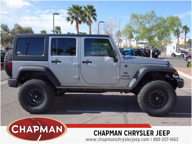 2018 Jeep Wrangler Unlimited Sport S – Stock #18J526