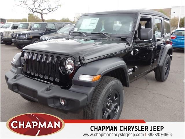 Chapman Chrysler Jeep >> 2018 Jeep Wrangler Unlimited JL Sport for sale - Stock#18J646 | Chapman Chrysler Jeep