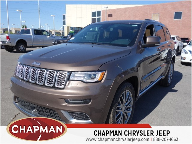 2018 Jeep Grand Cherokee Summit – Stock #18J852