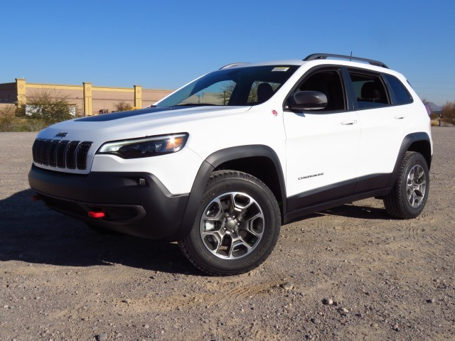 2020 Jeep Cherokee Trailhawk 4WD 9-Speed Automatic w/Manual Shift 4X4