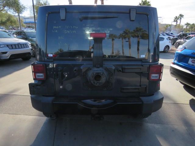 2017 Jeep Wrangler Unlimited Sahara Smoky Mountain