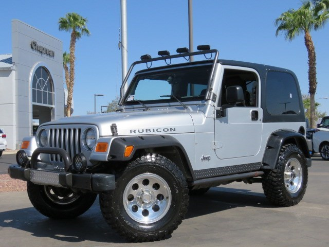 2003 Jeep Wrangler Rubicon Tomb Raider Edition