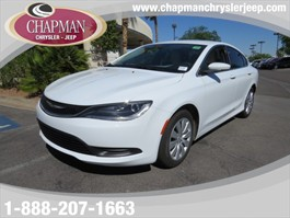 2015 Chrysler 200 LX Stock #:587788