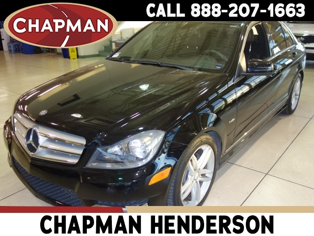 Used 2012 Mercedes Benz C Class C 250 Luxury Pc2917a Chapman