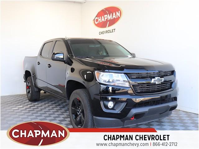 Used 2019 Chevrolet Colorado 191217b Chapman Chevrolet