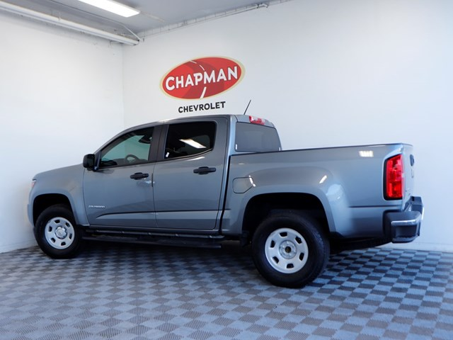 Used 2018 Chevrolet Colorado Work Truck Crew Cab
