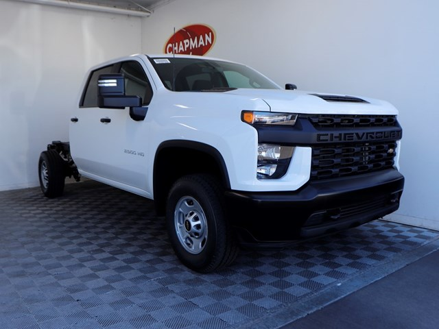 New 2020 Chevrolet Silverado 2500HD Crew Cab Work Truck 4WD