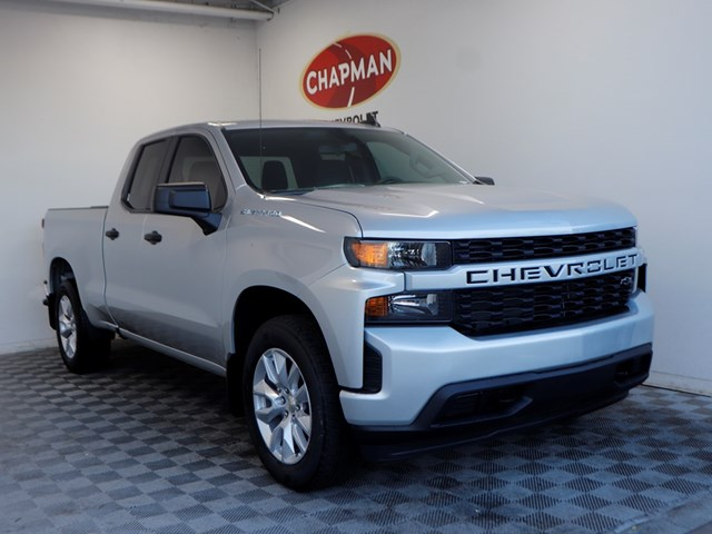New 2020 Chevrolet Silverado 1500 Double Cab Custom