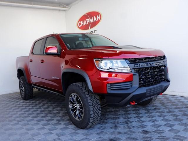 2021 Chevrolet Colorado 4ZR2 4WD
