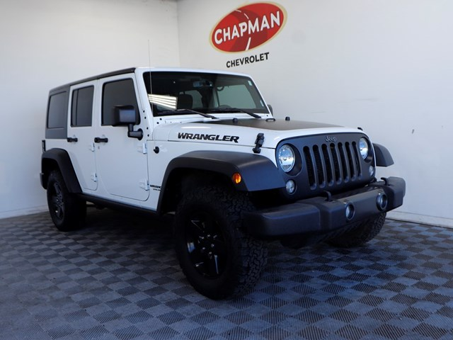 Used 2017 Jeep Wrangler Unlimited Freedom
