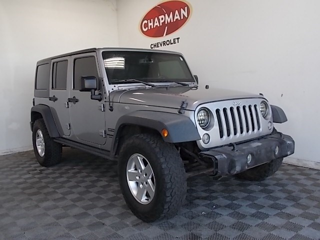 Used 2016 Jeep Wrangler Unlimited Sport S