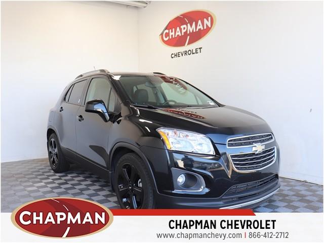 Used 2016 Chevrolet Trax Ltz Z4722 Chapman Choice
