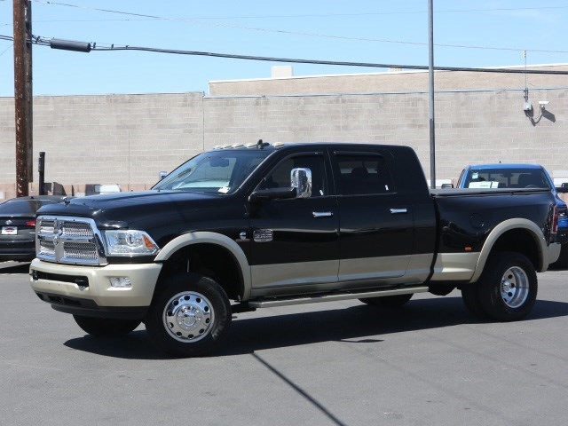 2013 Ram 3500 Laramie Longhorn Crew Cab