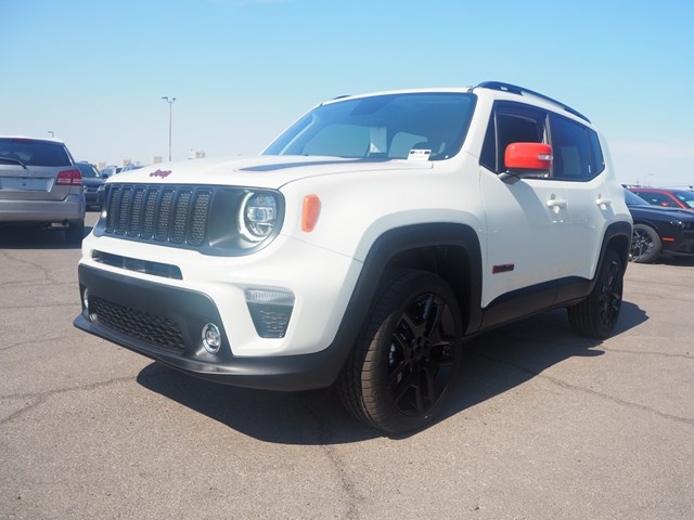 2020 Jeep Renegade Orange Edition