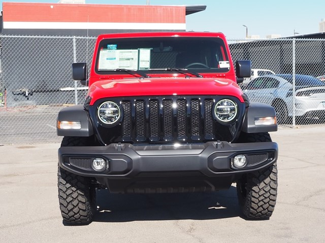 2021 Jeep Wrangler Unlimited Willys