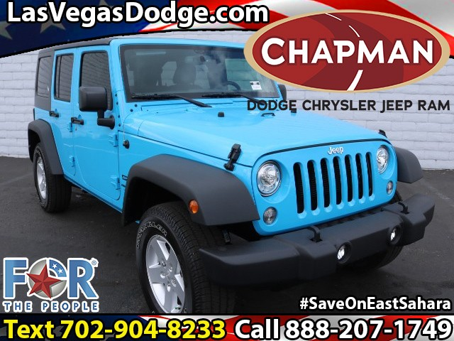 2018 Jeep Wrangler Unlimited Sport S   Stock # J8341 J8341