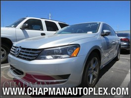 View the 2012 Volkswagen Passat