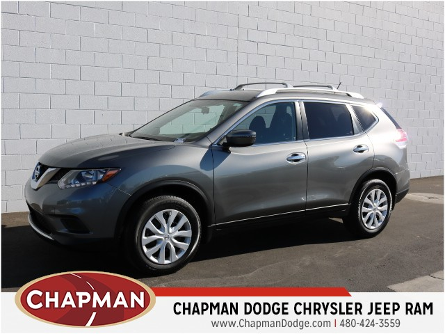 used 2016 nissan rogue s for sale stock 7d0422a chapman dodge chrysler jeep ram. Black Bedroom Furniture Sets. Home Design Ideas