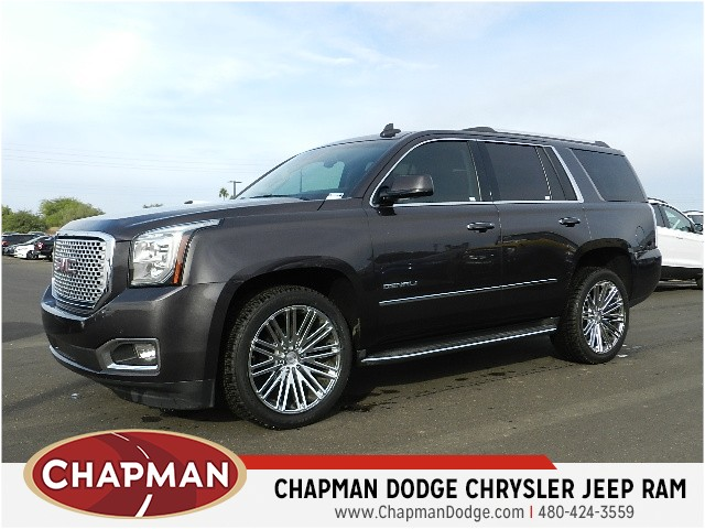used 2015 gmc yukon denali for sale stock 7d0662c chapman dodge chrysler jeep ram. Black Bedroom Furniture Sets. Home Design Ideas