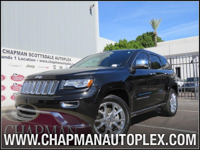 2014 Jeep Grand Cherokee Summit Details