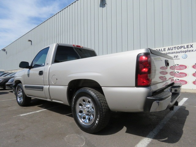 used 2005 chevrolet silverado 1500 work truck phoenix az stock 7j8048a chapman hyundai in. Black Bedroom Furniture Sets. Home Design Ideas