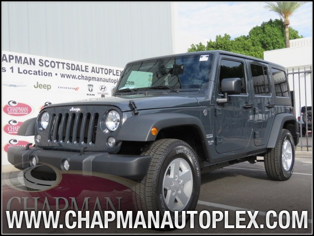 2017 jeep wrangler unlimited sport s for sale stock 7j0072 chapman dodge scottsdale. Black Bedroom Furniture Sets. Home Design Ideas
