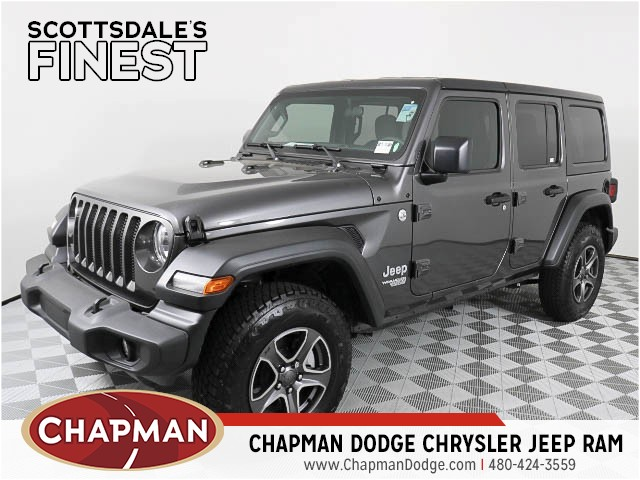 2018 Jeep Wrangler Unlimited Jl Sport S For Sale Stock