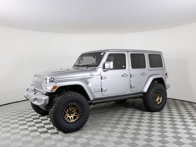 2018 Jeep Wrangler Unlimited Sahara Custom