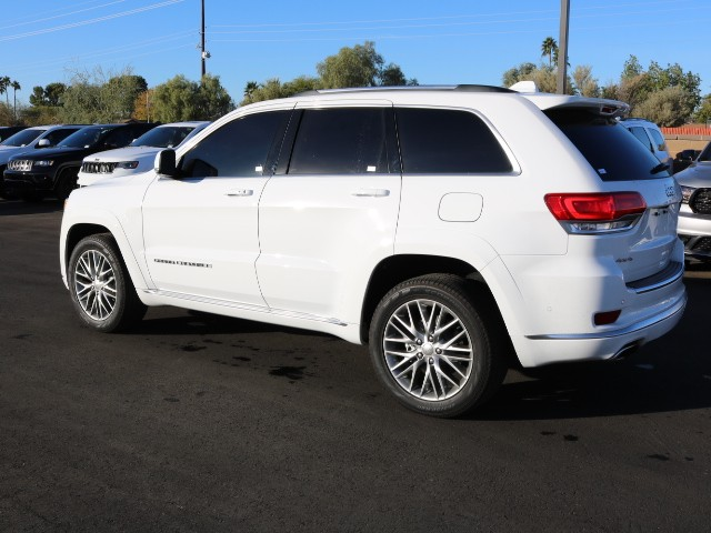 used 2017 jeep grand cherokee summit for sale stock 8r0164a chapman dodge chrysler jeep ram. Black Bedroom Furniture Sets. Home Design Ideas