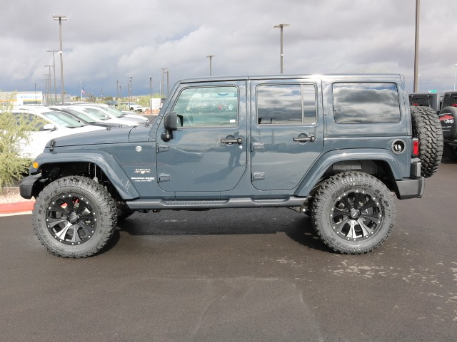 2018 Jeep Wrangler Unlimited Sahara For Sale Stock