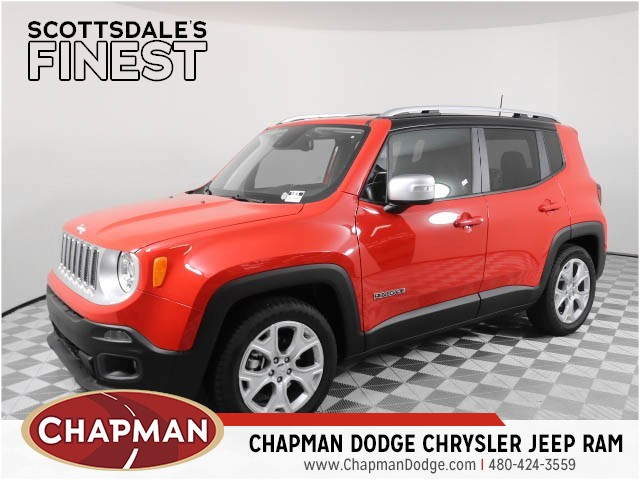 2018 jeep renegade limited for sale stock 8j0655 chapman dodge scottsdale. Black Bedroom Furniture Sets. Home Design Ideas