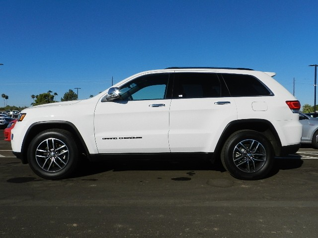 Used 2017 Jeep Grand Cherokee Limited For Sale Stock