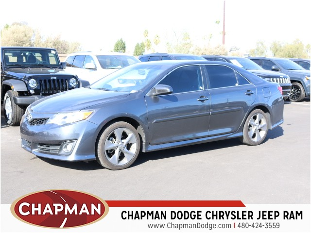 used 2013 toyota camry xle for sale stock p5551a chapman dodge chrysler jeep ram. Black Bedroom Furniture Sets. Home Design Ideas