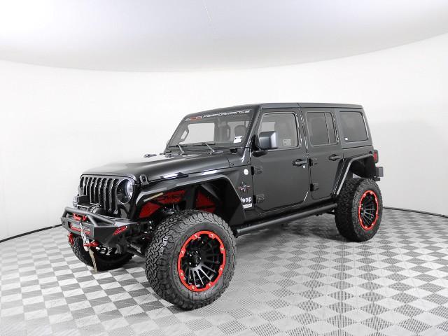 New 2019 Jeep Wrangler Unlimited Sport S Custom