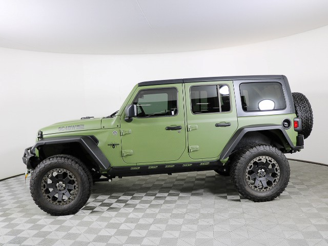 New 2019 Jeep Wrangler Unlimited Sport S Custom