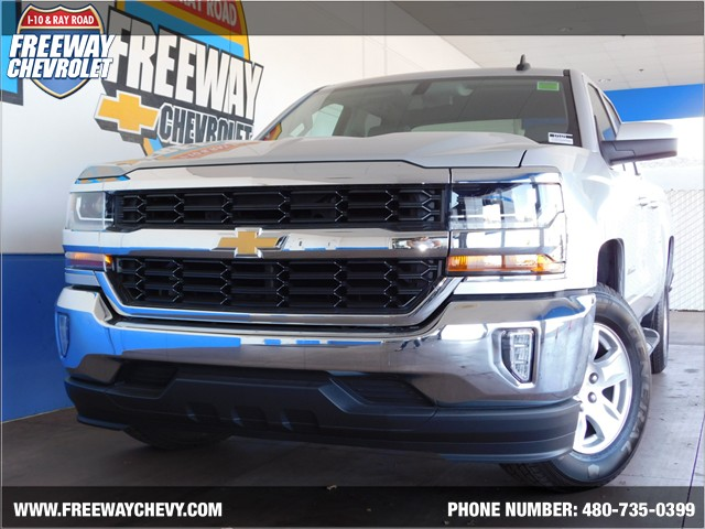 2017 chevrolet silverado 1500 double cab 1lt phoenix az stock 171121 freeway chevrolet. Black Bedroom Furniture Sets. Home Design Ideas