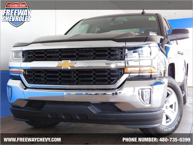 2017 chevrolet silverado 1500 double cab 1lt phoenix az stock 171172 freeway chevrolet. Black Bedroom Furniture Sets. Home Design Ideas