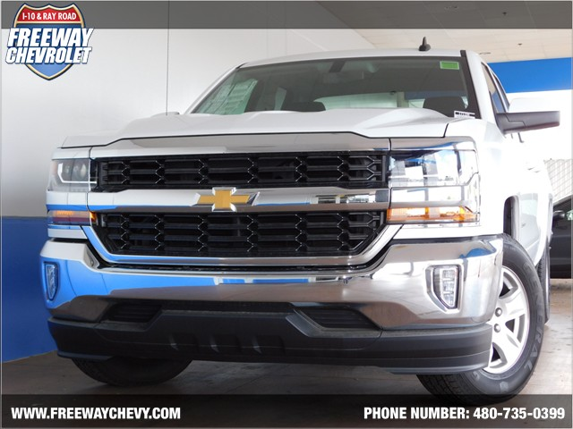 2017 chevrolet silverado 1500 double cab 1lt phoenix az stock 171194 freeway chevrolet. Black Bedroom Furniture Sets. Home Design Ideas