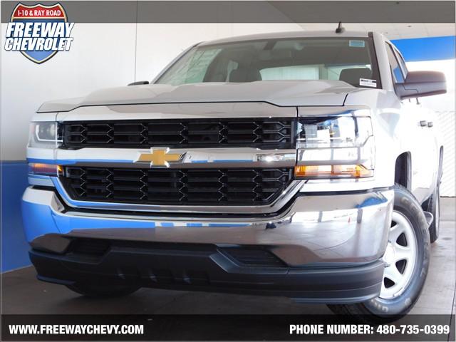 2017 chevrolet silverado 1500 double cab work truck phoenix az stock 171369 freeway chevrolet. Black Bedroom Furniture Sets. Home Design Ideas