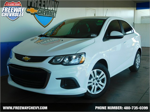 2017 chevrolet sonic ls phoenix az stock 171847 freeway chevrolet. Black Bedroom Furniture Sets. Home Design Ideas