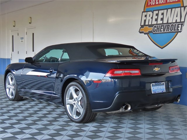 Certified Pre-Owned 2015 Chevrolet Camaro SS Convertible