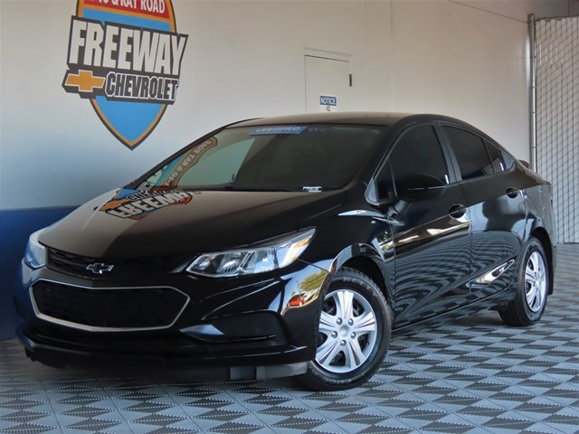 Certified Pre-Owned 2017 Chevrolet Cruze LS Auto