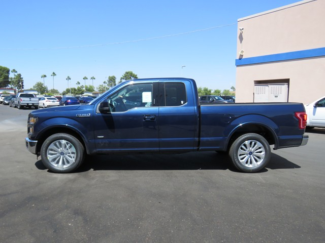2016 ford f 150 supercab lariat phoenix az stock 161377 chapman ford. Black Bedroom Furniture Sets. Home Design Ideas